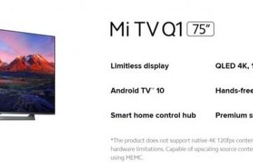 小米电视Q1不支持4K120Hz官方澄清