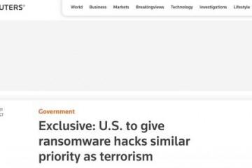 外媒美国将把对黑客攻击调查提升至与恐怖主义相当水平