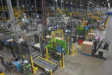 沃尔玛宣布将为25座配送中心部署Symbotic机器人